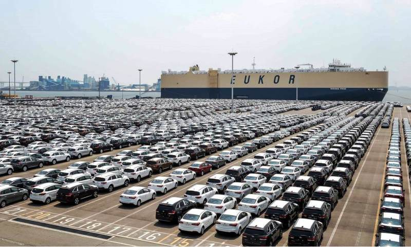 Kia cars ready for export