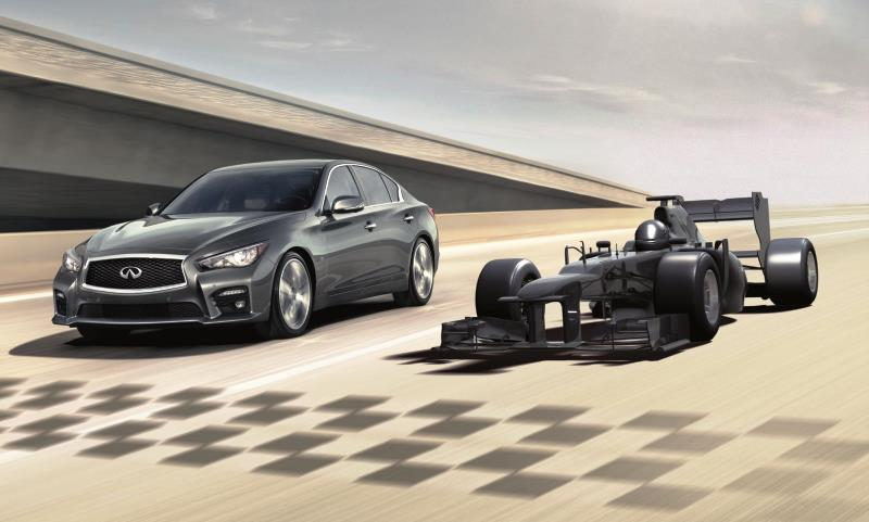 Infiniti Red Bull F1 competition