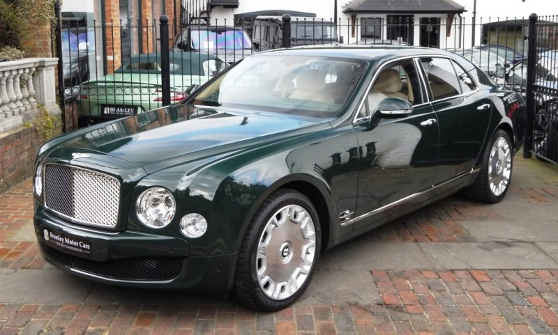 Queen's Bentley Mulsanne