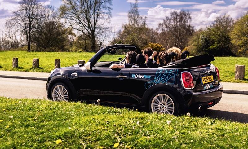 DriveNow MINI Convertible car share