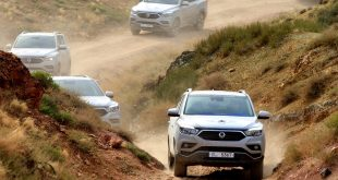 SsangYong Rexton in the Trans Eurasia test drive