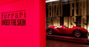 Ferrari exhibition at London's Design Museum