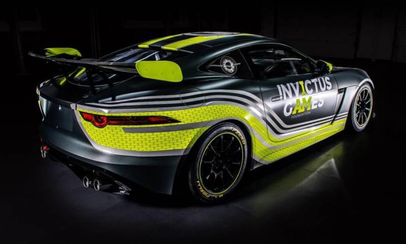 Invictus Games Racing Jaguar F-Type GT racer unveiled ...