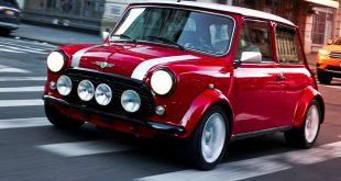 One-off 100% electric classic Mini