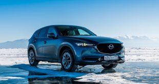 Mazda CX-5 Epic Drive on Lake Baikal