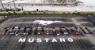 Milestone as 10 millionth Ford Mustang is built