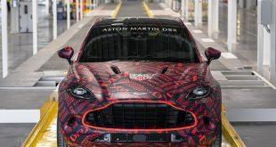 Aston Martin DBX - built at St Athan, Wales