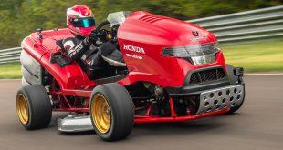 Honda's record-breaking Mean Mower V2