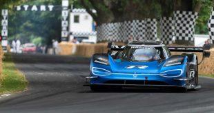 Volkswagen electric ID.R race car