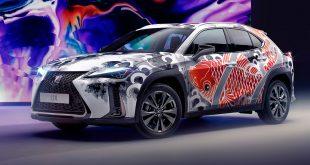 Lexus UX - world's first tattooed car