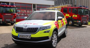 Skoda Kodiaq joins West Sussex Fire and Rescue