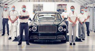 Bentley Mulsanne milestone