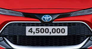 Corolla - Toyota's 4.5 millionth British-built car