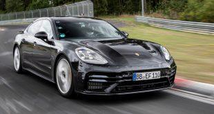 Porsche Panamera sets new Nurburgring lap record