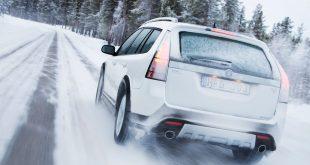 Saab 9-3 snow