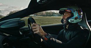 Daniel Ricciardo drives the new McLaren Artura