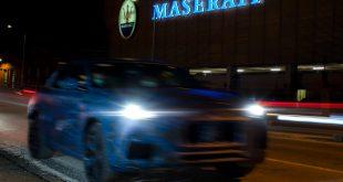 Maserati Grecale SUV teaser