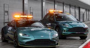 Aston Martin DBX - Official Medical Car of Formula 1 and Aston Martin Vantage - Official Safety Car