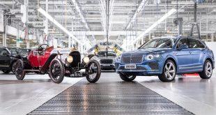 Bentley Motors produces 200,000th luxury car