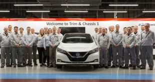 Record-breaking Nissan Leaf
