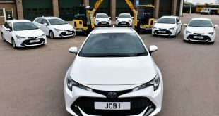 JCB orders 40 Toyota Corolla Touring Sports models