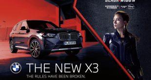 BMW X3 and Marvel Studios' Black Widow