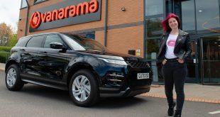 Juliette Morrison from Pinner, London, wins brand new Range Rover Evoque